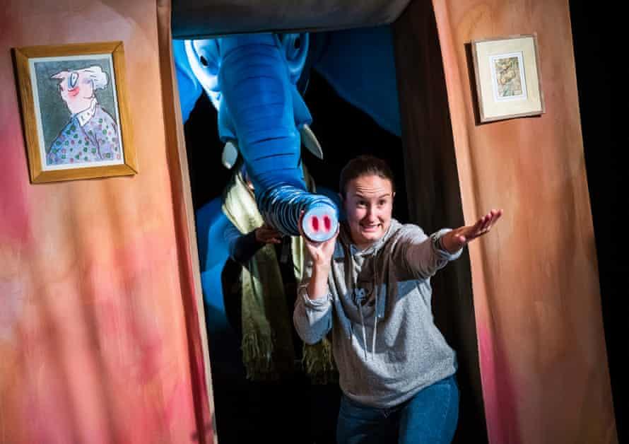 Heidi Goldsmith in The Slightly Annoying Elephant.