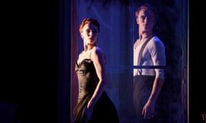 Natalia Osipova (as Amélie Gautreau) with Matthew Ball (John Singer Sargent) in Strapless, part of a Christopher Wheeldon triple bill at the Royal Opera House, London.