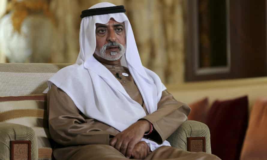 Sheikh Nahyan bin Mubarak Al Nahyan, the tolerance minister of the United Arab Emirates, speaks to The Associated Press in Abu Dhabi, United Arab Emirates, jan 2019