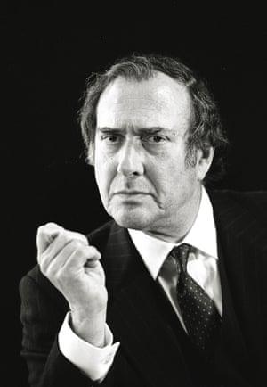 Harold Pinter, 1995.