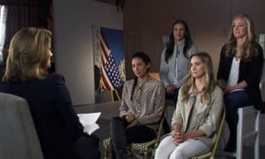 US women's national team on 60 Minutes