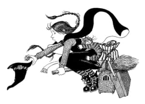 An image from Jill Murphy's The Worst Witch