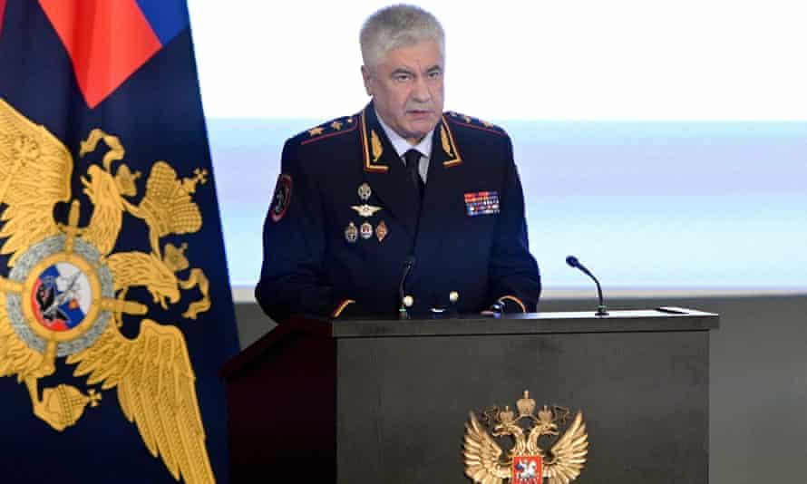 Interior Minister Vladimir Kolokoltsev.