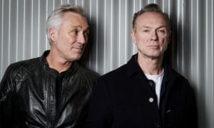 'I think our parents never thought further than putting food in front of us and love around us' … Martin and Gary Kemp.