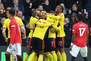 Watford 2 0 Manchester United Premier League As It Happened Football The Guardian