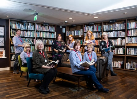 Storyhouse ChesterFor Guardian Labs Public Services Award supplement. Pictured are some of the Library team based at the Storyhouse complex in Chester. Pictured are Rachel Foster, Jane Hockenhull, Caroline Dunseath, David Fowler, Carol Hanson, Nikki Jennerway, Sara Wade-Vuletic, Claire Oxley and Jane Hockenhull. Photo by Fabio De Paola