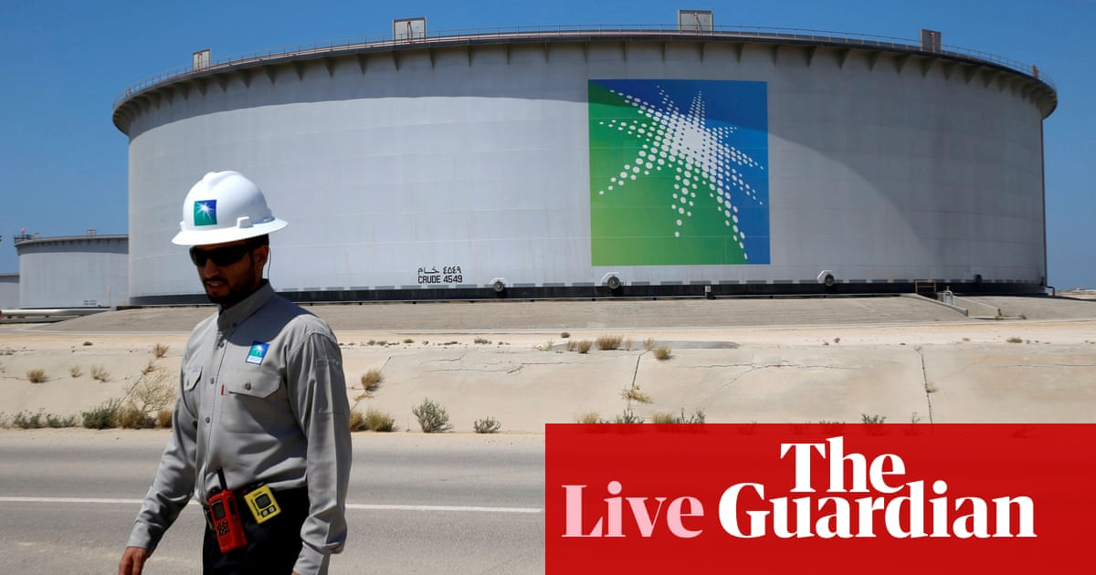 Saudi Arabia's giant state-owned oil company makes $47bn half-year