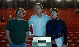 John Steen, Michael Fassbender and Kate Winslet in Steve Jobs.