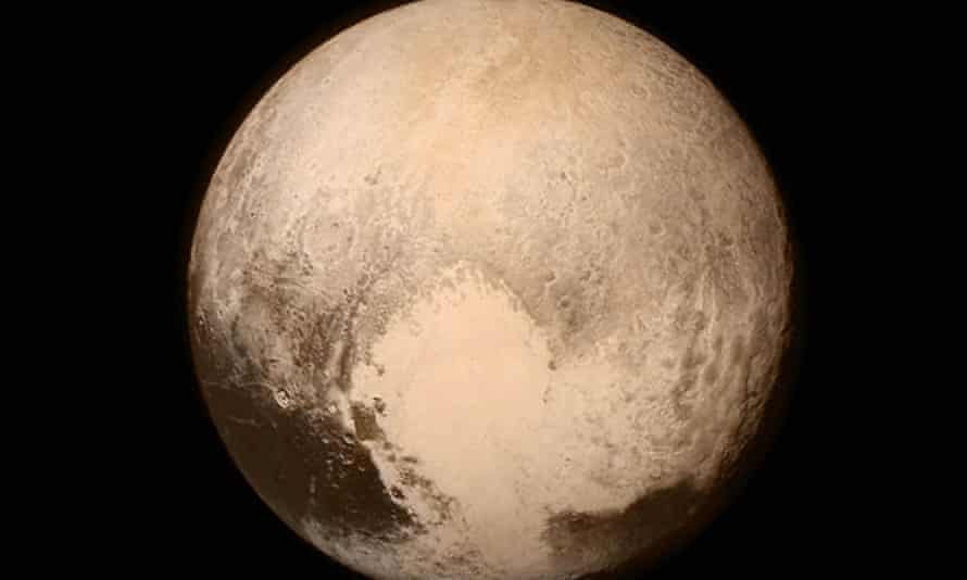 New Horizons missionUndated NASA handout photo of Pluto obtained by the New Horizons spacecraft. PRESS ASSOCIATION Photo. Issue date: Wednesday July 15, 2015. Photo credit should read: NASA/PA Wire NOTE TO EDITORS: This handout photo may only be used in for editorial reporting purposes for the contemporaneous illustration of events, things or the people in the image or facts mentioned in the caption. Reuse of the picture may require further permission from the copyright holder. webgallery planets 20FINAL