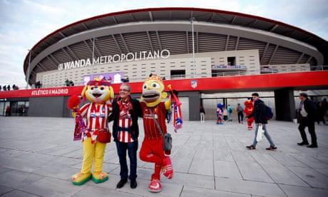 Atlético Madrid v Liverpool: Champions League last 16 –live!