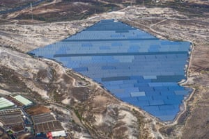 Shortlisted: Stuart Gleave. A large array of solar panels located on Tenerife's southern coast.