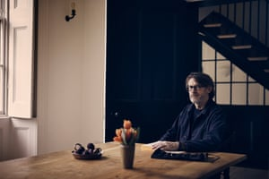 "'For me, this is when it starts, when warmth and bonhomie come to the fore'"" Nigel Slater photographed at home for OFM."