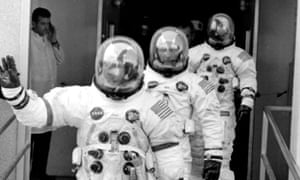 Mission impossible? ... the crew of the Apollo 13 lunar landing mission.