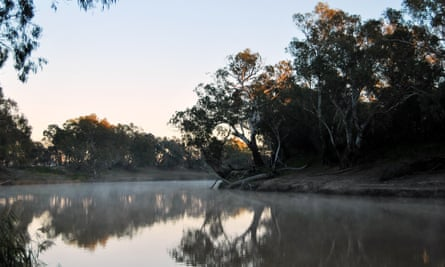 The Barwon river in outback NSW.