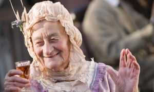 Liz Smith in Lark Rise to Candleford in 2008.