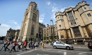 The University of Bristol's vice-chancellor, Hugh Brady, helped to launch the new guidelines.