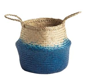 Small seagrass basket, £20, johnlewis.com