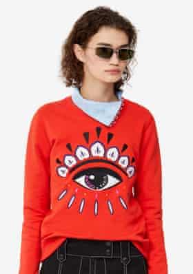 One of Kenzo's sweatshirt designs