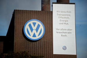 German carmaker Volkswagen saw its shares lose more than 9 per cent of their value in early trading Wednesday as investors reacted to the latest news in the company's emissions cheating scandal.