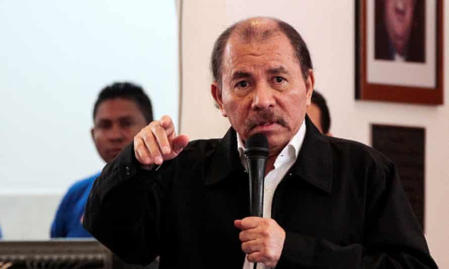 Nicaragua's president, Daniel Ortega.