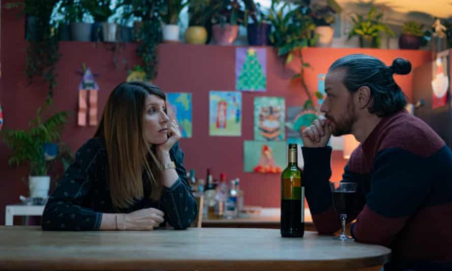 Sharon Horgan and James McAvoy in Together
