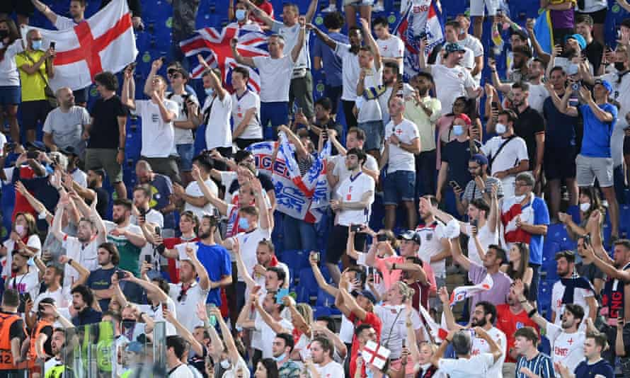 Fans who persevered were rewarded with an extraordinary, exhilarating 4-0 victory over Ukraine.