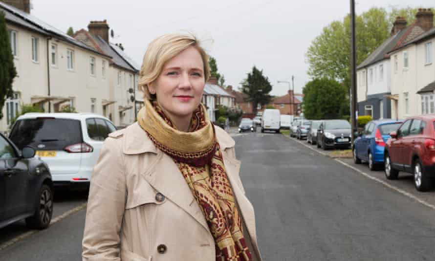 Stella Creasy MP in her Walthamstow constituency.
