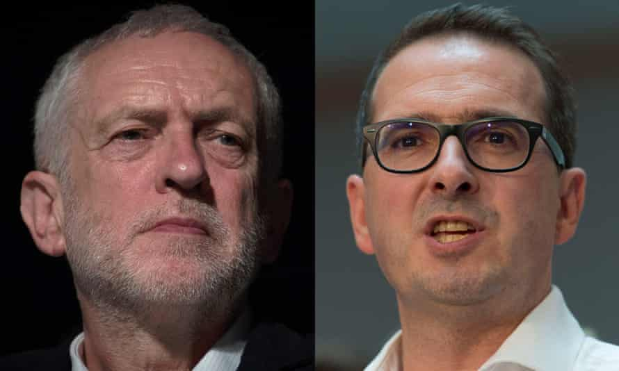 Jeremy Corbyn has rejected a Channel 4 News head-to-head hustings with Owen Smith, right.