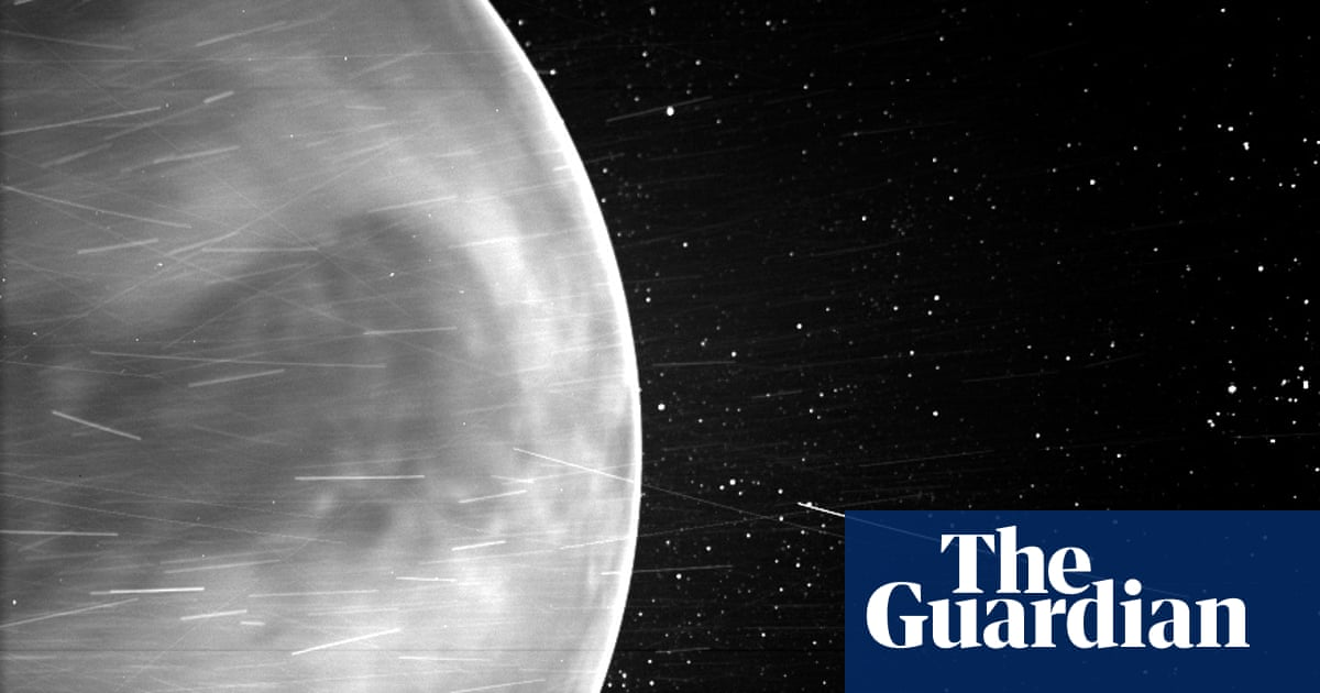 Spacewatch: Venus terrain revealed by Nasa solar probe
