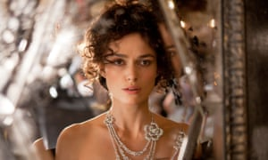 Keira Knightley in the 2012 film of Anna Karenina. Photograph: Focus Features