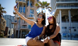 Israel marks Independence DayWomen take a selfie as Israel celebrates its Independence Day marking the 71st anniversary of the creation of the state, in Tel Aviv, Israel May 9, 2019. REUTERS/ Corinna Kern
