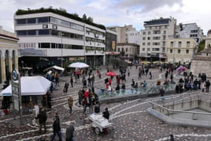 Athens' Monastiraki square.