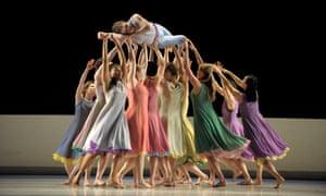 Mark Morris Dance Group's L'Allegro, il Peneroso ed il Moderato.
