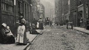 Dorset Street, where Mary Jane Kelly was murdered.