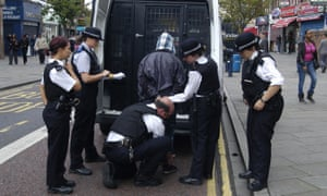 A man is arrested in London on suspicion of looting during the 2011 riots.