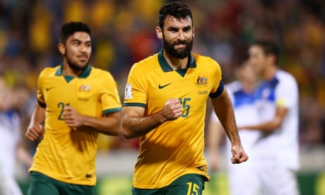 Mile Jedinak named in initial Socceroos squad for key World Cup qualifiers