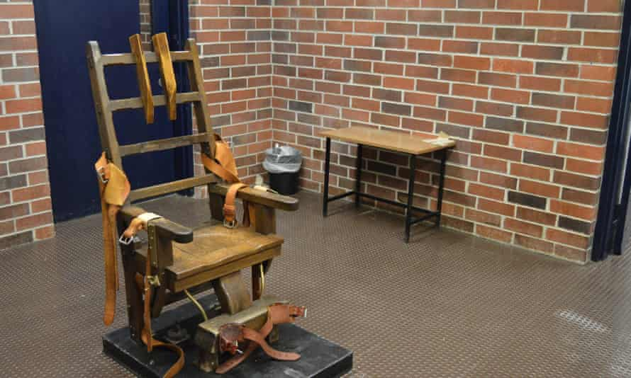 The state's electric chair in Columbia, the state capital. South Carolina's supply of life-ending drugs expired in 2013, and the state has not gone forward with a prisoner execution since 2011.
