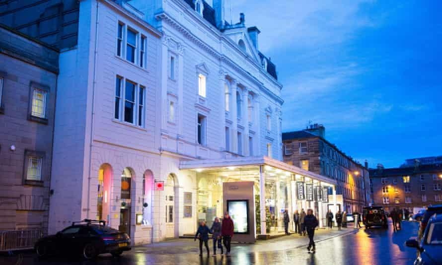 The Royal Lyceum Theatre, Edinburgh.