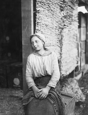 William Joseph Brunell A Young Italian Woman Employed by the British Army in Italy November 1918