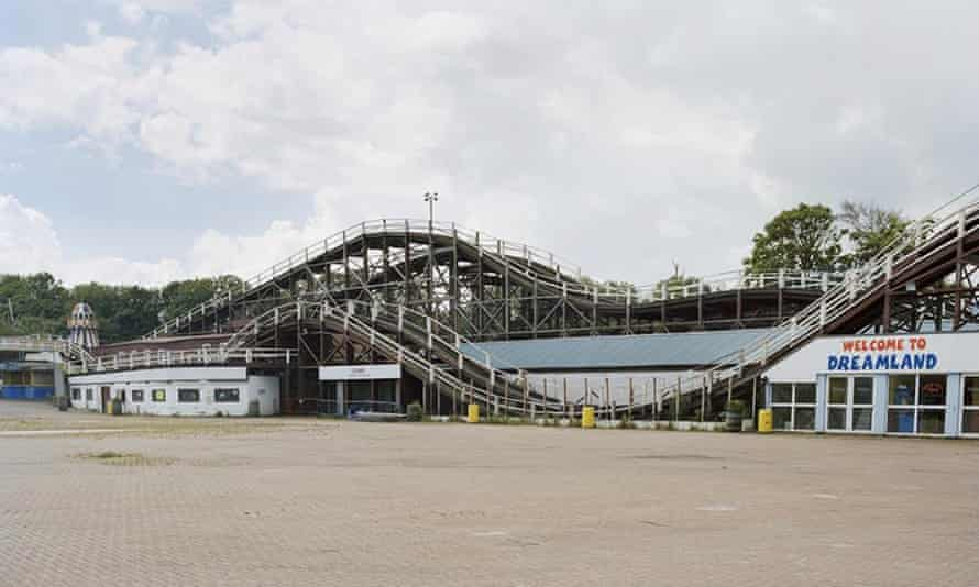 The Scenic Railway rollercoaster at Dreamland in Kent