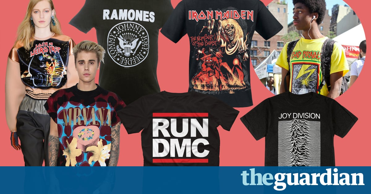 How fashion co-opted the band T-shirt