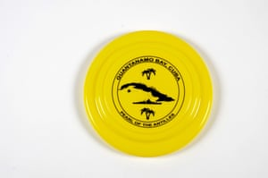 A brightly coloured frisbee
