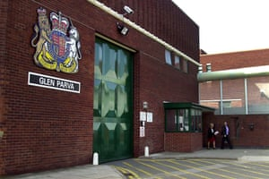 Glen Parva young offenders institution in Leicestershire,