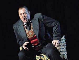 Peter Rose in Boris Godunov by the English National Opera at the London Coliseum, November 2008