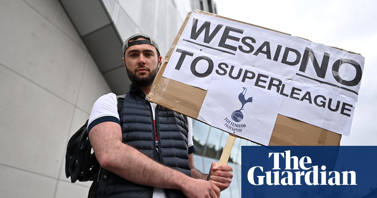 Chaos and collapse: European football's not-so-super league – podcast