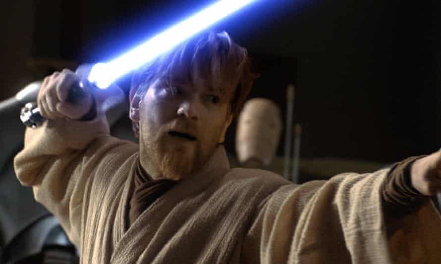 Ewan McGregor as Obi-Wan Kenobi in Star Wars Episode III: Revenge of the Sith.