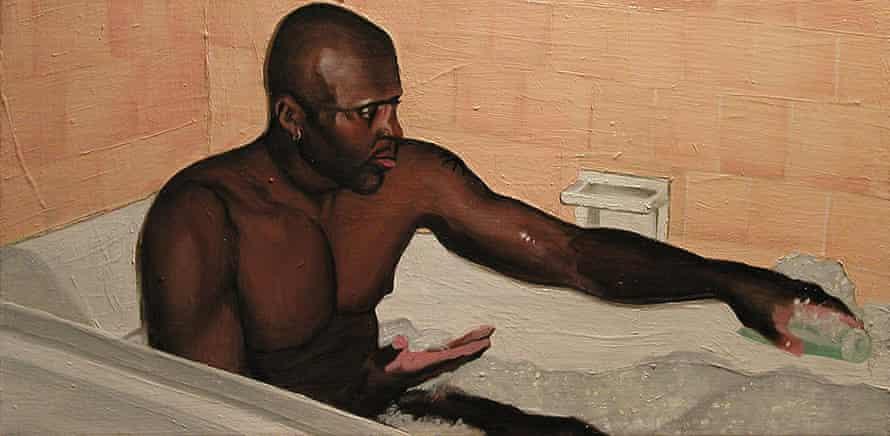 Joey Terrill - Charles Taking a Bubble Bath, 2004