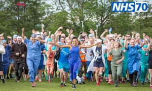 Parkrun celebrates the NHS – but surely it should also be vice versa ...