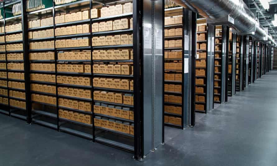 Remote temperature and humidity controls are being used to protect the archive's negatives and prints