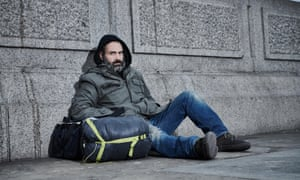 Burrows several layers deeper than we are used to ... Ed Stafford in 60 Days on the Streets.